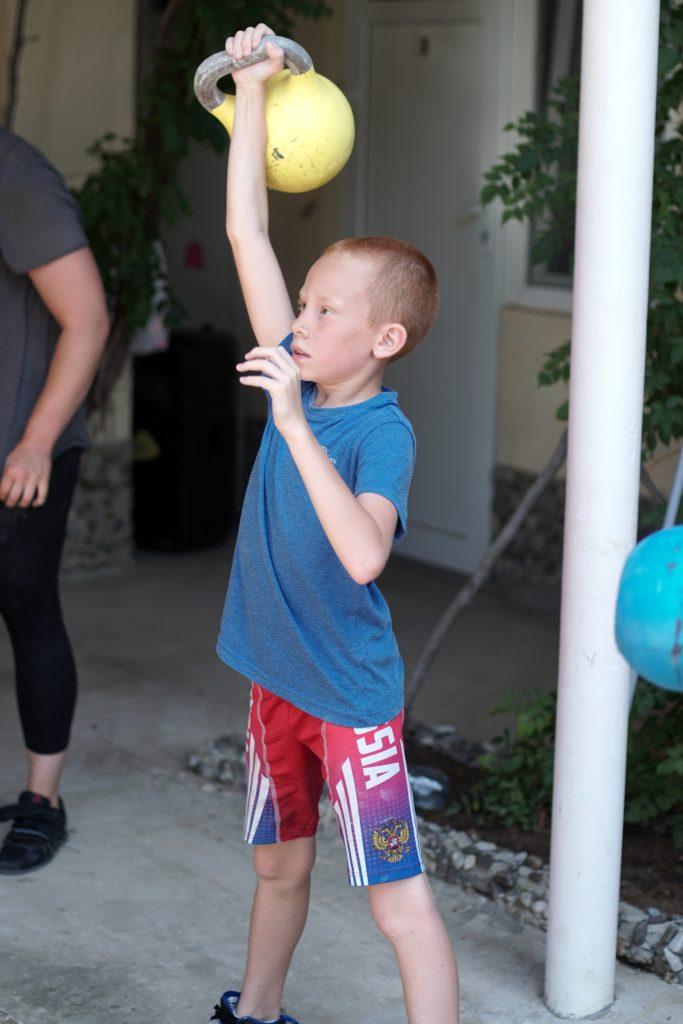 Детский гиревой спорт