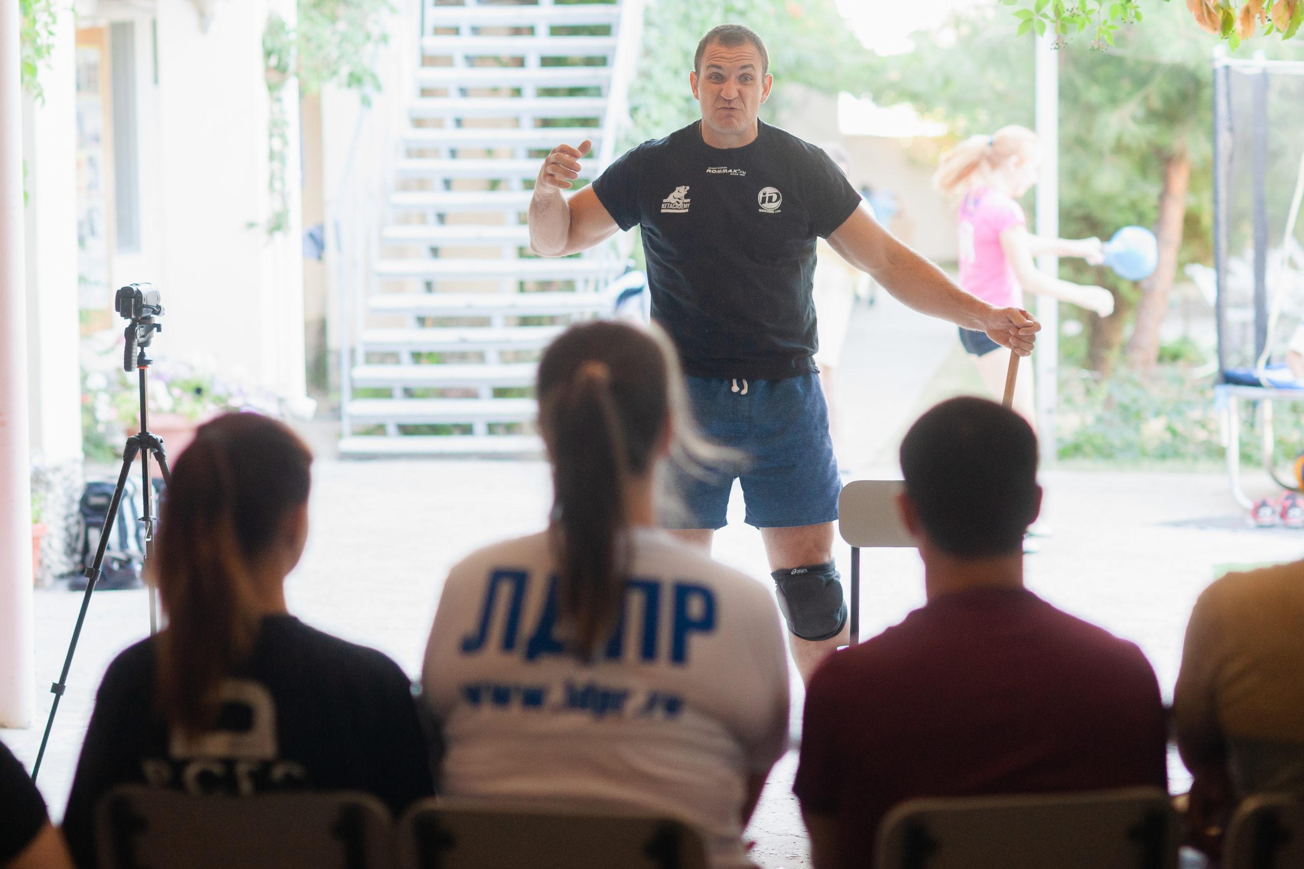 Семинар по тренировкам с гирями и гиревому спорту.